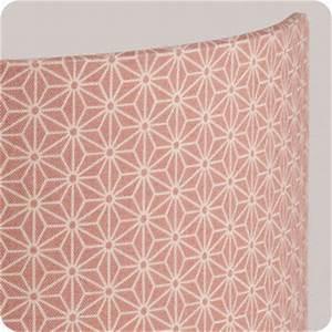 Tissu Rose Poudré : applique murale design en tissu motif japonais rose poudre pinku ~ Teatrodelosmanantiales.com Idées de Décoration