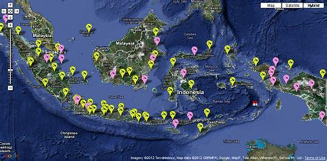 membuat peta  google map indonesia airport scenery