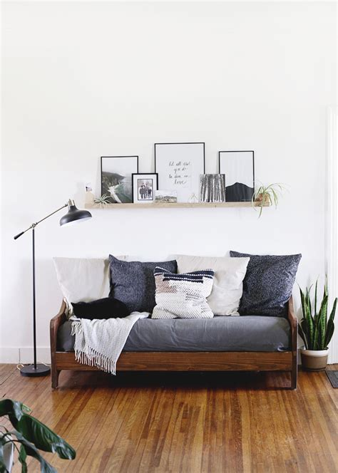 Diy Loveseat by Diy Wood Sofa The Merrythought