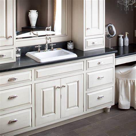 countertops for white cabinets white bathroom cabinets with dark countertops edgarpoe net