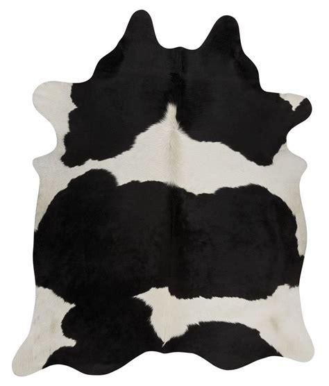 Cowhide Australia by Cow Hide Black White Floor Rug The Gilded Pear Australia