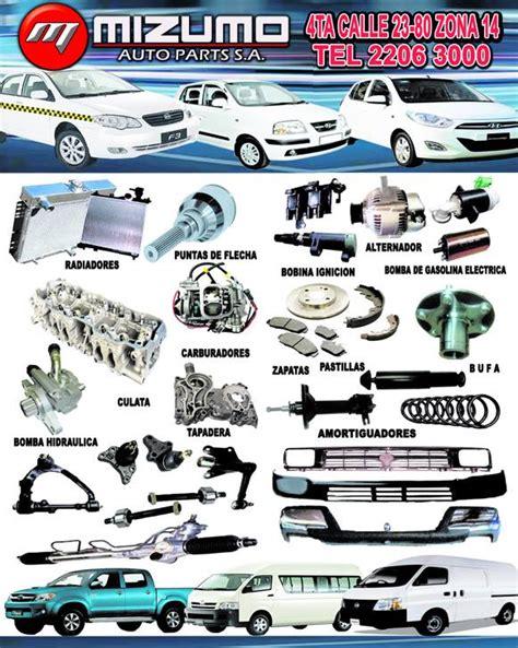 mizumo auto parts s a home