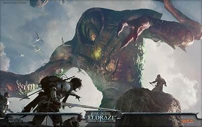Magic Gathering Wallpapers Mtg Eldrazi Fantasy Backgrounds