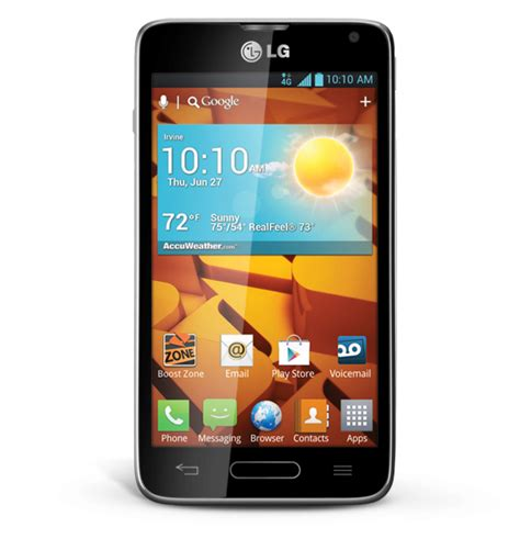 used boost mobile phones lg optimus f3 lg720 thin 4g lte android smart phone boost
