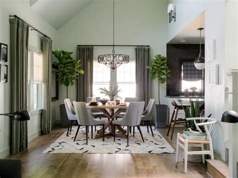 Grey Living Room Hgtv by Dining Room Pictures From Hgtv Oasis 2016 Hgtv