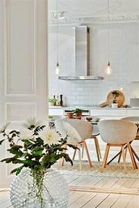 quelle deco salle a manger choisir idees en 64 photos With salle À manger contemporaine avec style scandinave pas cher