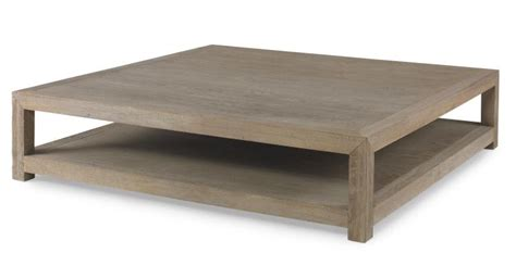 Large Square Napa Coffee Table   Mecox Gardens