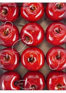 Pomme Rouge Deco : 1 pomme rouge petite fausse pomme ~ Teatrodelosmanantiales.com Idées de Décoration
