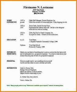 free basic resume templates microsoft word With simple resume samples free
