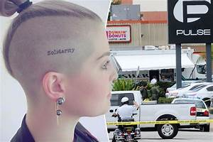 Kelly Osbourne debuts 'Solidarity' head tattoo as she pays ...