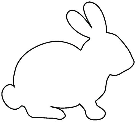 rabbit coloring pages printable  cute pictures