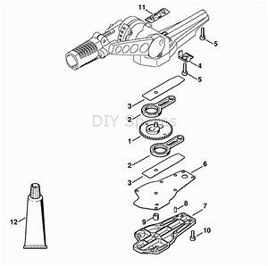 stihl hedge trimmer attachment parts diagram automotive With stihl weed eater parts diagram