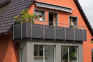 Sichtschutz Für Balkongeländer : gel nder wittmer metallbau umbau pinterest metallbau gel nder und balkon ~ Markanthonyermac.com Haus und Dekorationen