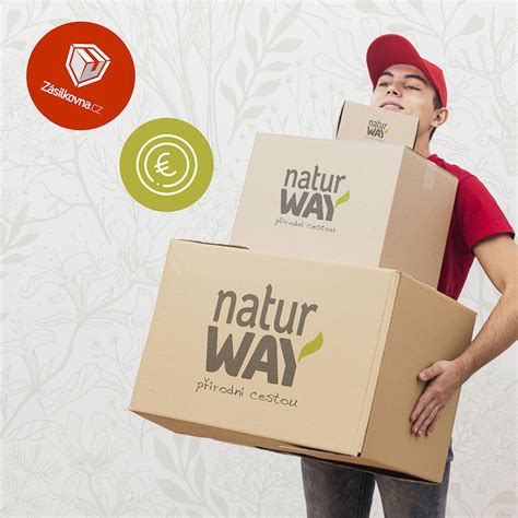 Nově v našem e-shopu: Zásilkovna a placení v eurech | NaturWay