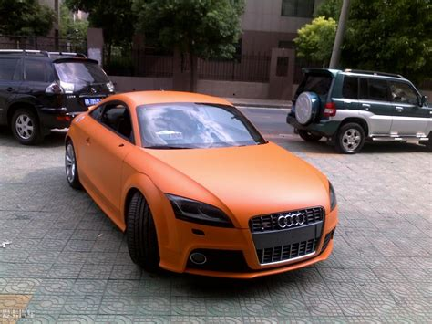 matte orange vwvortex com matte orange tt what do you guys think