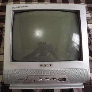 Harga Tv Merk Sharp 14 Inch jual tv tabung cembung sharp 14 inch di lapak akmal