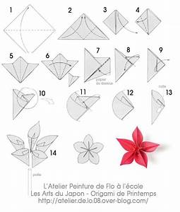 Fleur En Origami Facile : origami fleur diy origa ~ Farleysfitness.com Idées de Décoration