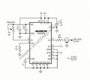 high frequency function generator using max038 simple With adjustable high low frequency sine wave generator