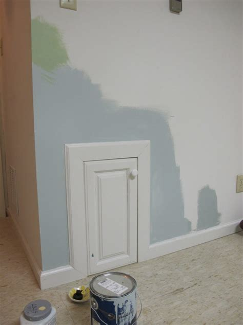 rainwashed paint color planning a basement makeover part 1 thrift diving
