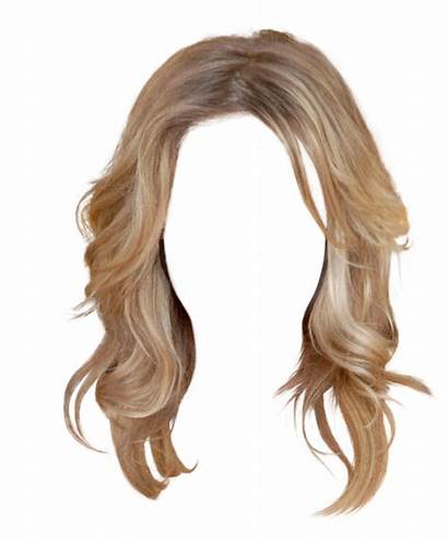 Transparent Hairstyles Wig Hair Clipart Golden Hairstyle