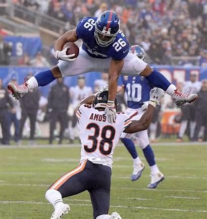 Barkley Saquon Giants Bears Football York Ny