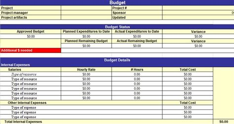 simple project management template excel  excel tmp