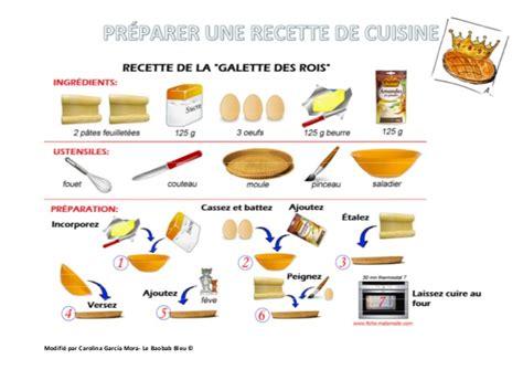 recett de cuisine préparer une recette de cuisine