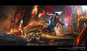 Gods of Egypt's Home Release Concept Art Revisits Classic ...