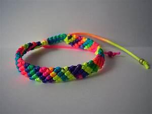 créez de magnifiques bracelets brésiliens fluos avec