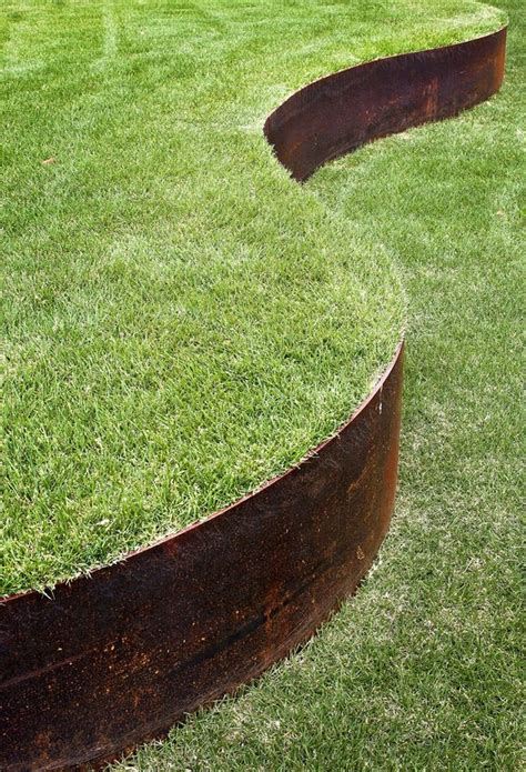 Metal Garden Edging Ideas best steel landscape edging ideas on garden and