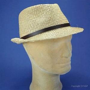 Chapeau De Paille Homme : chapeau trilby homme achat chapeau de paille trilby pour ~ Nature-et-papiers.com Idées de Décoration