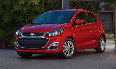 Chevy Spark Gets More Chrome, New Safety Tech For 2019 My