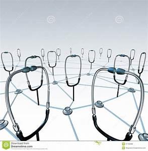 Doctor Network Stock Illustration  Illustration Of Diagram