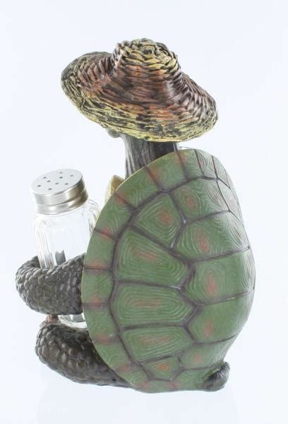 5728 turtle salt and pepper shakers turtle soup sitting salt and pepper shakers holder set