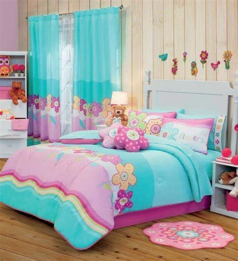 twin full queen bunk bed girls garden comforter set