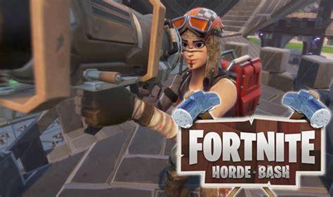fortnite countdown horde bash  release date