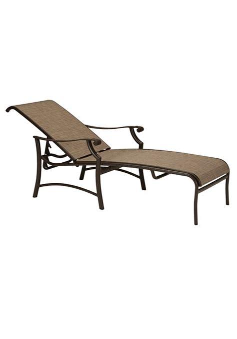 tropitone montreux sling chaise lounge universal patio