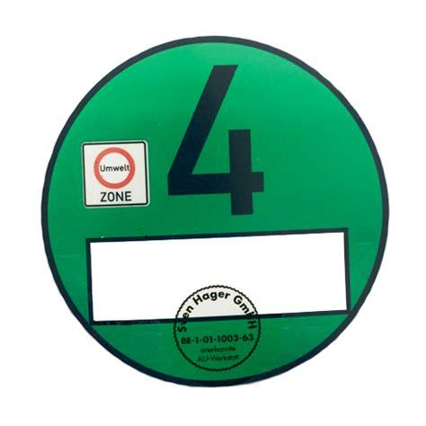 4 plakette kaufen die gr 252 ne plakette direkt sicher offiziell kaufen