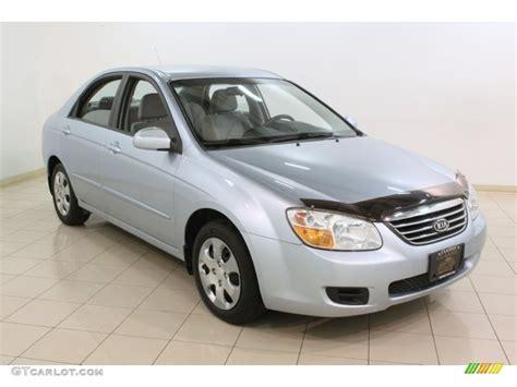 2008 Ice Blue Kia Spectra Ex Sedan #75977715
