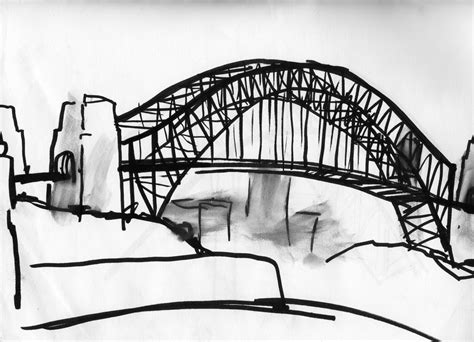 old drawing of Sydney Harbour Bridge | Project for tzivos ...