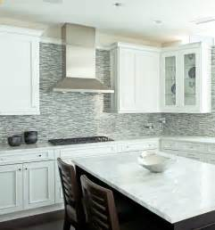 backsplash for white kitchen blue mosaic tile backsplash contemporary kitchen andrea johnson design