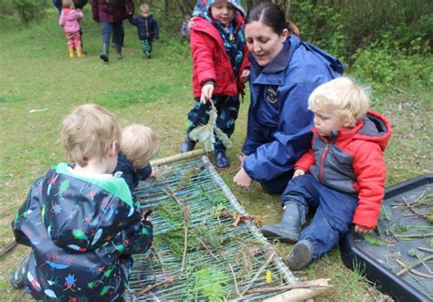 forest school  year anniversary outdoor learning
