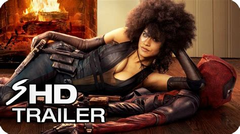 actress playing domino in deadpool 2 deadpool 2 official extended teaser trailer 2018