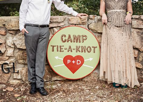 A Colorful Summer Camp Themed Wedding Every Last Detail