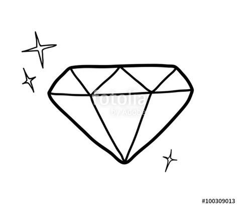 Kleurplaat Glitter Oog by Diamonds Doodle Pencil And In Color Diamonds