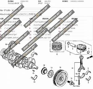 Twy Trading  Honda Civic Type R Fd2 Genuine Part Diagrams   Engine   Crankshaft