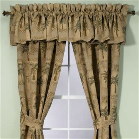 buy palm tree window valances from bed bath beyond
