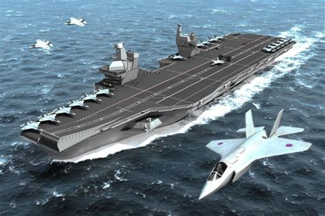 Royal Navy Aircraft Supercarriers Bill Doubles To More