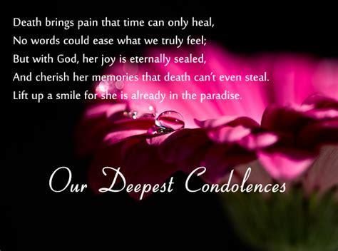 condolence messages greetingscom