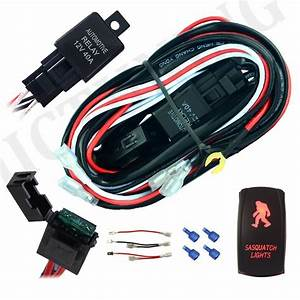Buy Mictuning 12ft Wiring Harness Kit For Off Road Led